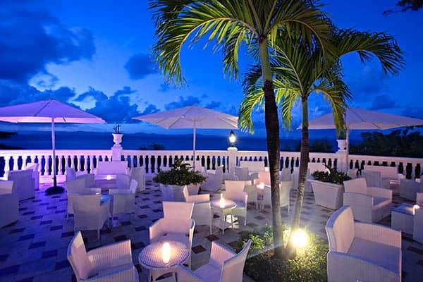 Nightlife in Cayo Levantado