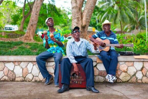 músicos jamaica