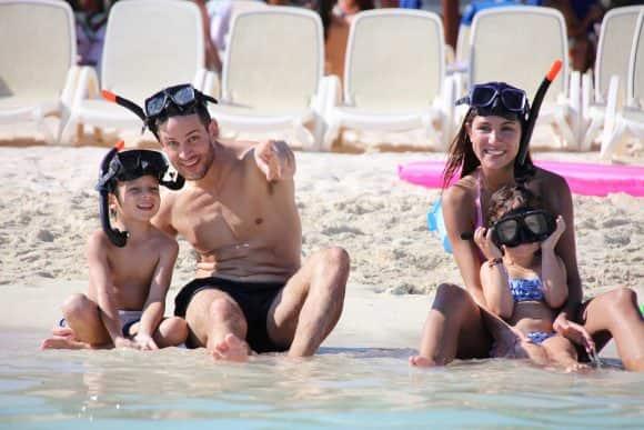 Familia en Riviera Maya