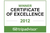 TripAdvisor Of excellence Jamaica 2012 2