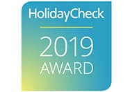 HolidayCheck 2019 and 2017 Award