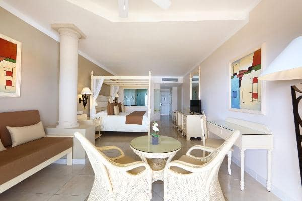 Junior Suite Deluxe Ocean Front Room at Luxury Bahia Principe Akumal Don Pablo Collection 1