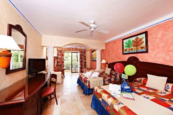 Family Junior Suite Room at Grand Bahia Principe Coba 1