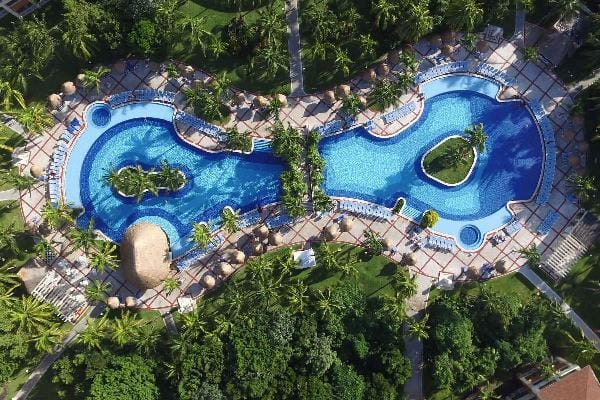 Pools at Grand Bahia Principe Coba