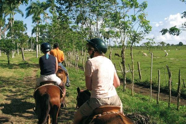 Beach horseback riding at Jamaica 3