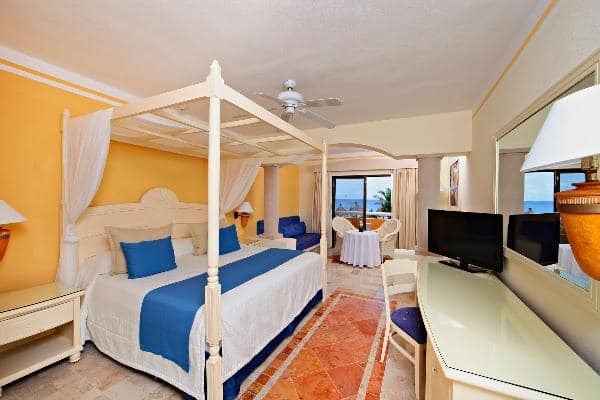 Junior Suite Ocean Front Room at Luxury Bahia Principe Akumal Don Pablo Collection 1