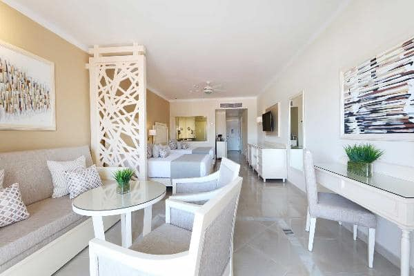 Junior Suite Deluxe Room at Luxury Bahia Principe Fantasia Don Pablo Collection 5