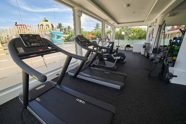 Gym at Grand Bahia Principe Portillo  3